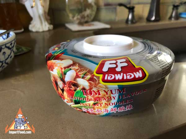 Instant Tom Yum Talay Noodle Soup