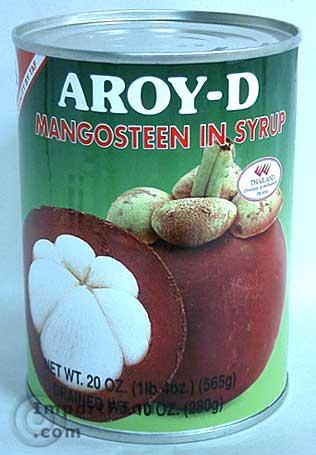 Thai Mangosteen, 20 oz can