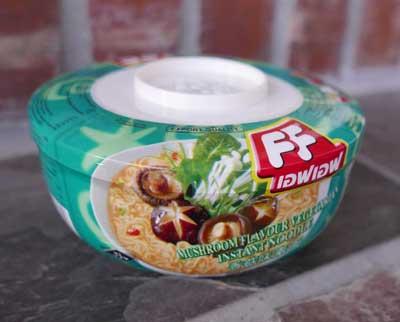 Instant Mushroom Vegetarian Noodle