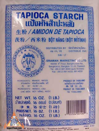 Tapioca Starch / Flour, 14 oz