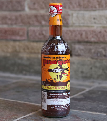 Flying Lion Fish Sauce, 23 oz bottle