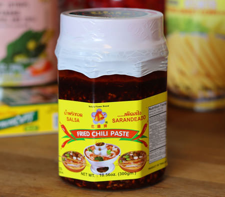 Thai Fried Chili Paste, 10.56 oz