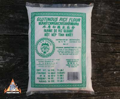 Thai Glutinous Rice Flour, 16 oz