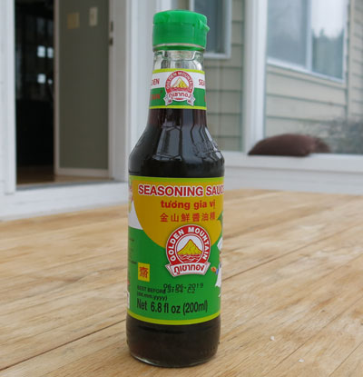 Thai Golden Mountain Sauce, 20 oz bottle