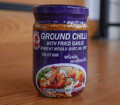 Thai Ground Chili with Fried Garlic
