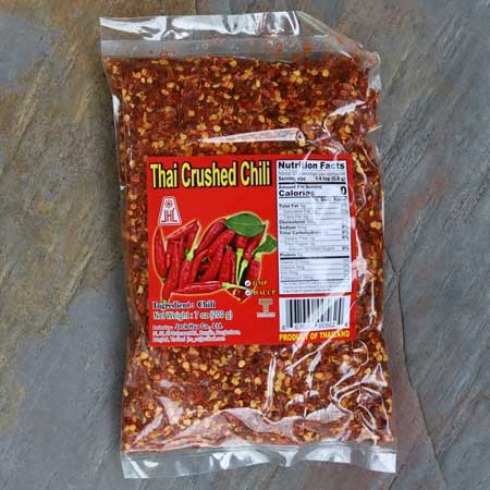 Ground Thai Chili Peppers, 7 oz