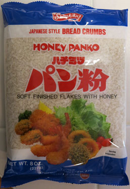 Honey Panko Bread Crumbs