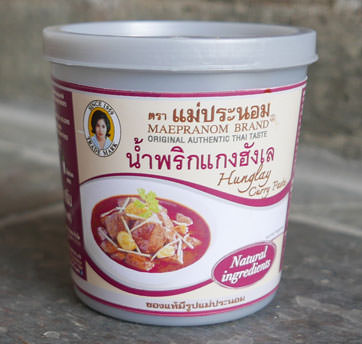 Thai Hunglay Curry Paste - Mae Pranom
