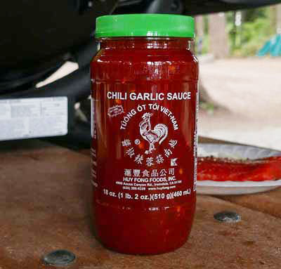 Chili Garlic Sauce, Huy Fong 18 oz