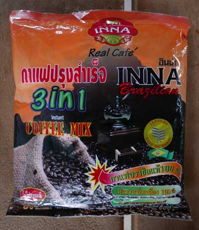 Thai Instant Coffee 3 in 1, INNA brand