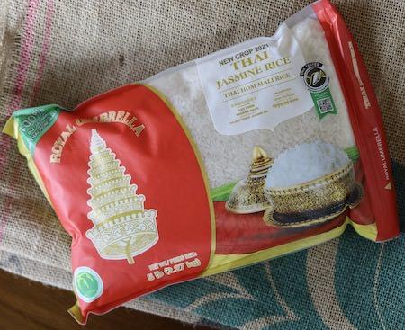 Thai jasmine rice, Royal Umbrella, 5 lbs 2021 Crop