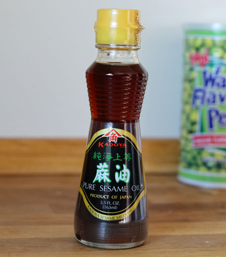 Sesame Oil, 5.5 oz bottle