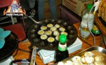 Quail Eggs Fried in Khanom Krok, Khai Nok Kra-Ta