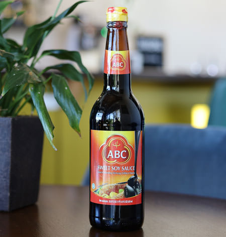 Kecap Manis (Sweet Soy Sauce), ABC Brand, 21 oz bottle