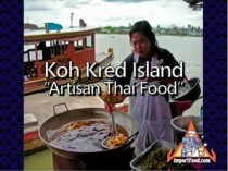 Koh Kred Island, Artisan Food and Pottery