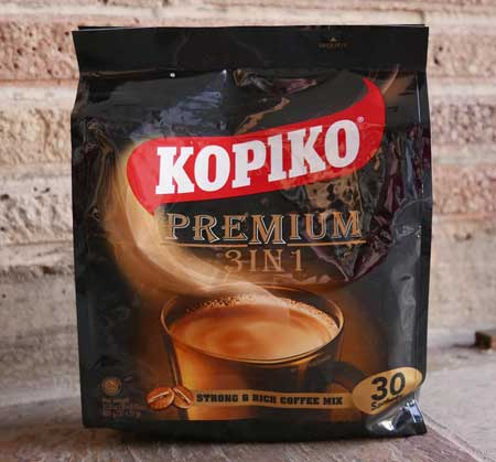 Kopiko Instant Coffee, Premium 3 in 1