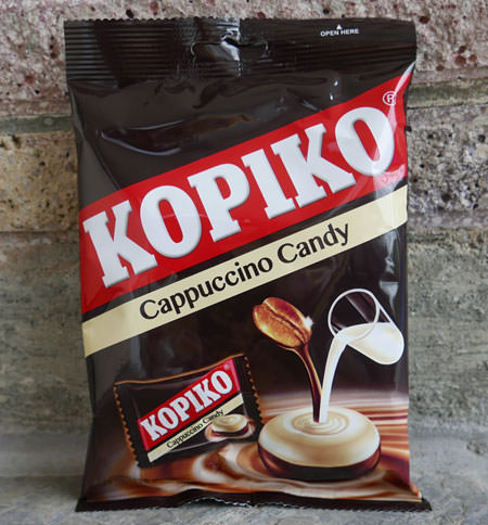 Kopiko Coffee Candy, Cappuccino, pack of 28