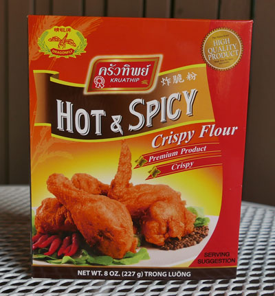 Hot and Spicy Crispy Flour, Kruathip
