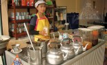 Bangkok Vendor Offers Traditional Thai Coffee and Tea, Cafe Boran