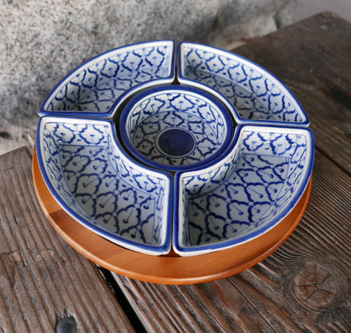 Thai Ceramic, Lazy susan, 11 in
