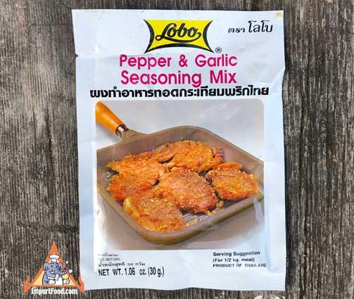 Thai Pepper & Garlic Seasoning Mix, Lobo