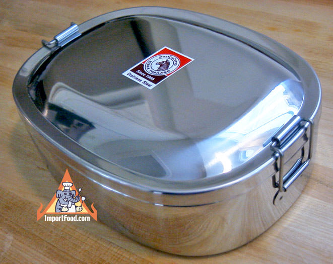 Thai-style Stainless Steel Lunchbox