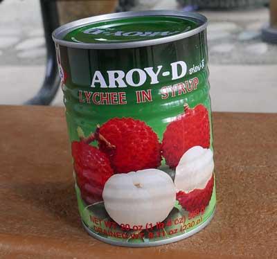 Thai Lychee, 20 oz can