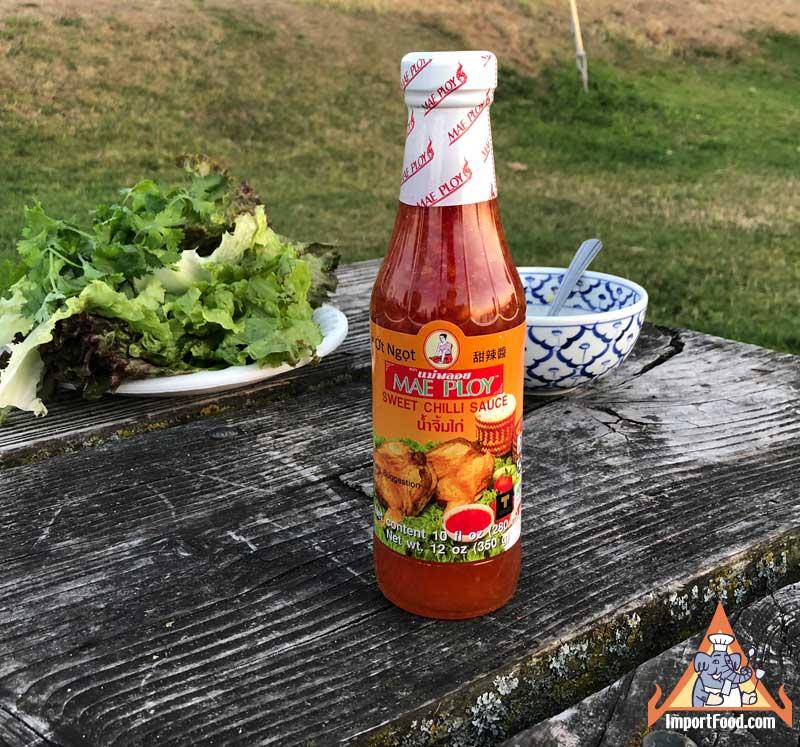 Thai Sweet Chilli Sauce Mae Ploy Brand Importfood