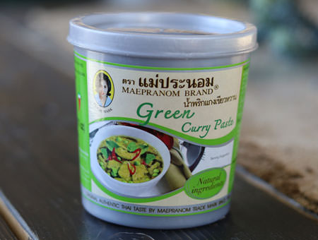 Thai Green Curry Paste - Mae Pranom
