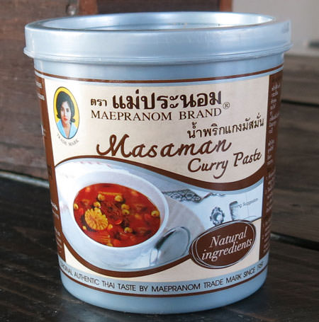 Thai Masaman Curry Paste - Mae Pranom