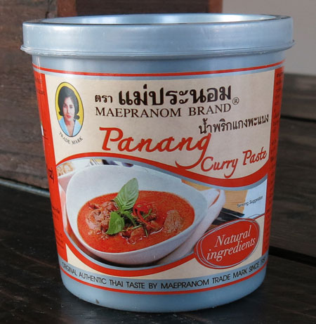 Thai Panang Curry Paste - Mae Pranom