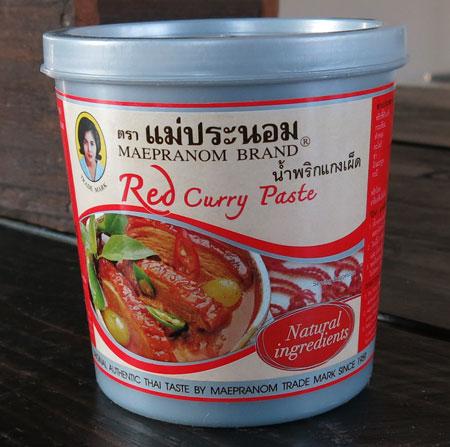 Thai Red Curry Paste - Mae Pranom