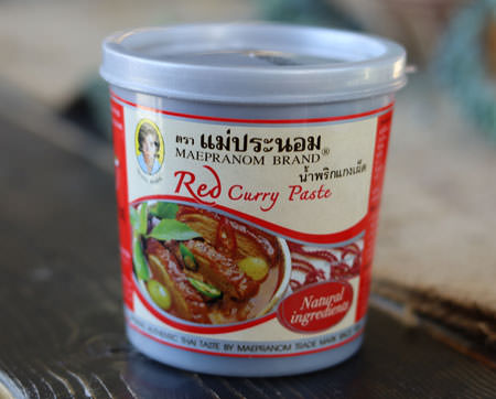 Thai Red Curry Paste - Mae Pranom
