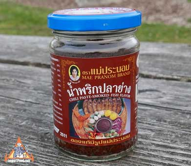 Smoked Fish Chili Paste (Namprik Pla Yang)