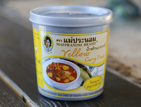 Thai Yellow Curry Paste - Mae Pranom