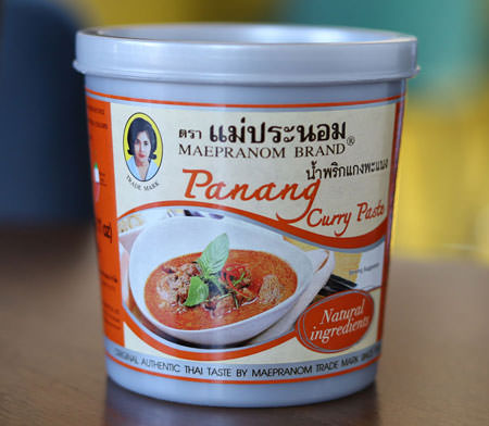 Thai Panang Curry Paste - Mae Pranom
