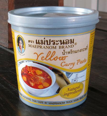 Thai Yellow Curry Paste - Mae Pranom