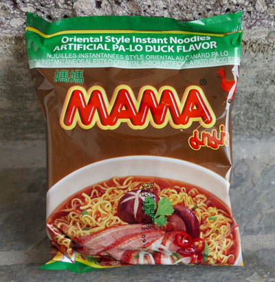 Mama brand, Instant Noodles, Pa Lo Duck