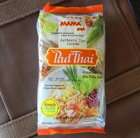 Instant Pad Thai Noodles, Mama, 5.3 oz Pack