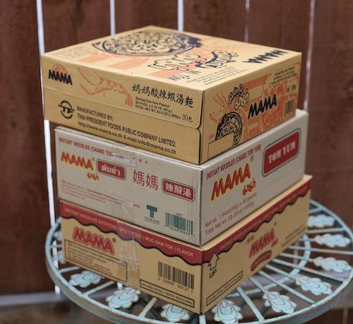 Bulk Pack 30 Mama brand, instant tom yum shrimp noodles