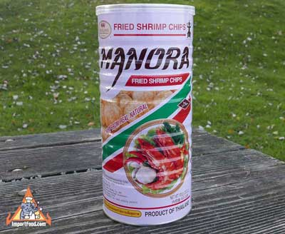 Fried Shrimp Chips - Manora brand