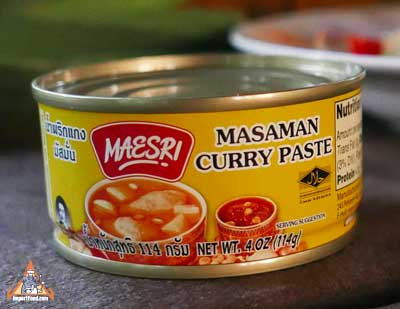 Massaman Curry Paste, Maesri