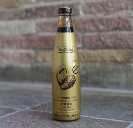 Thai Oyster sauce, Megachef, 21 oz bottle