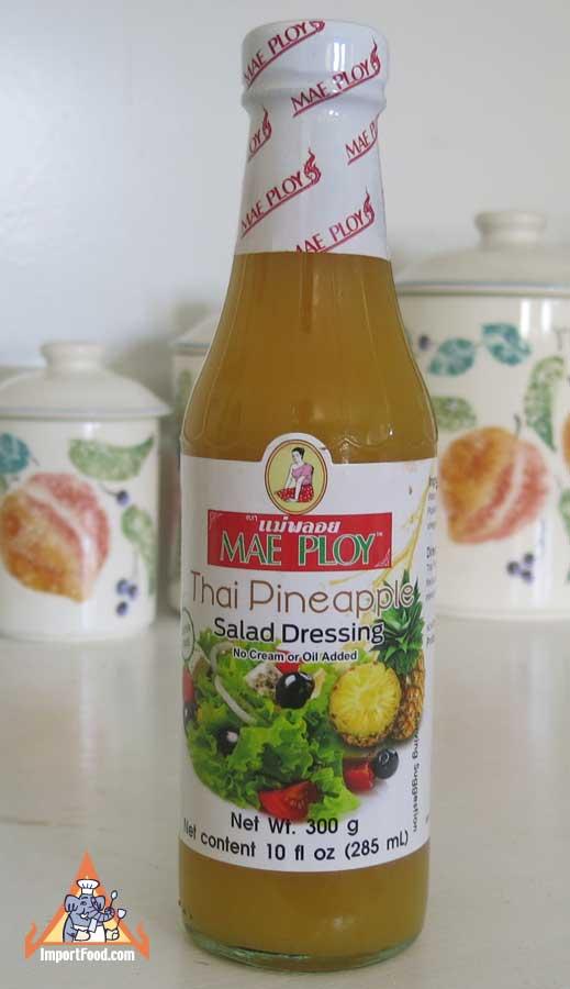 Thai Pineapple Salad Dressing, Mae Ploy