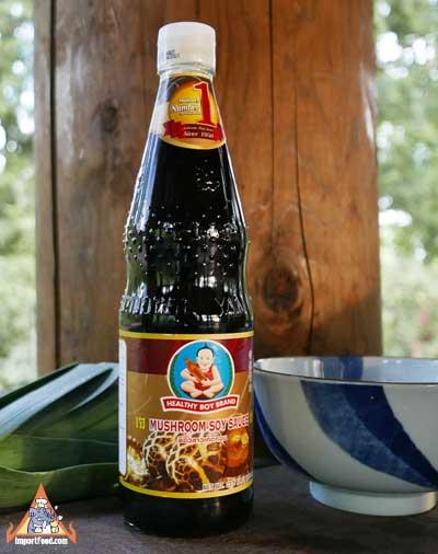 Mushroom Soy Sauce, Healthy Boy, 23.5 oz