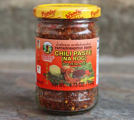 Namprik Narog, Thai Chili Paste, Pantainorasingh