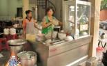 Bangkok Vendor Prepares Specialty Noodle Soup
