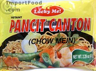 Pancit Canton instant noodles, 2.29 oz