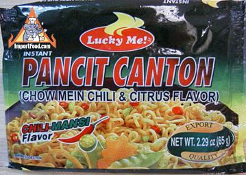Pancit Canton chili & citrus, 2.29 oz