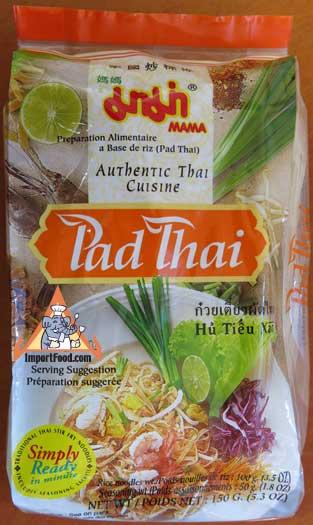 Instant Pad Thai Noodles, Mama, 5 oz Pack